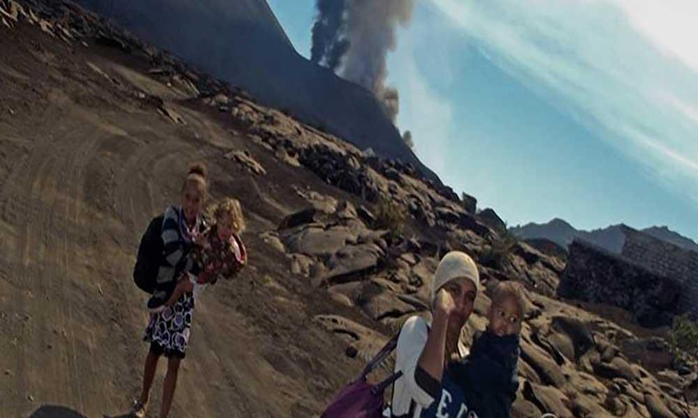 UCCLA e Embaixada de Cabo Verde angariam apoios para as populações vítimas do vulcão na ilha do Fogo