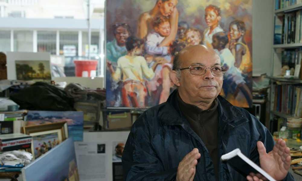 David Levy Lima, um pintor de dois mundos