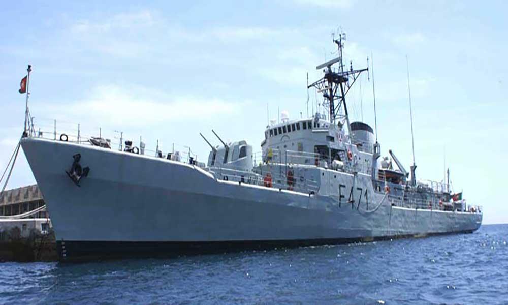 Portugal disponibiliza fragata para apoiar operações ligadas ao vulcão no Fogo