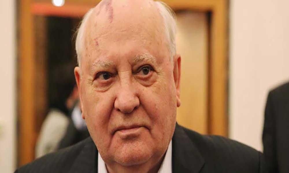 """Ex-líder soviético Mikhail Gorbachov alerta para risco de """"nova Guerra Fria"""""""
