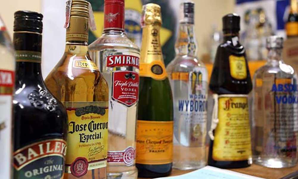 IGAE desmantela rede de falsificação de bebidas alcoólicas