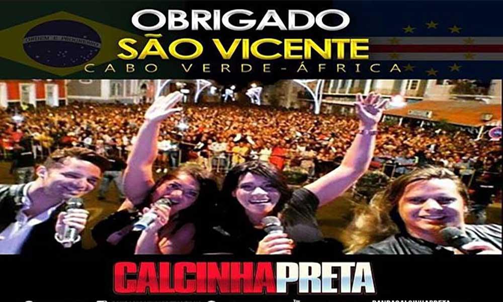 """Calcinha Preta provoca """"ira"""" dos cabo-verdianos"""