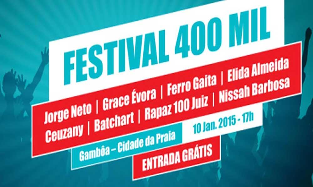 Festival 400 Mil acontece hoje na Gamboa
