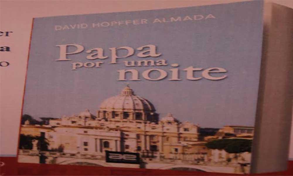 """""""Papa por uma noite"""" primeira ficção de David Hopffer Almada"""