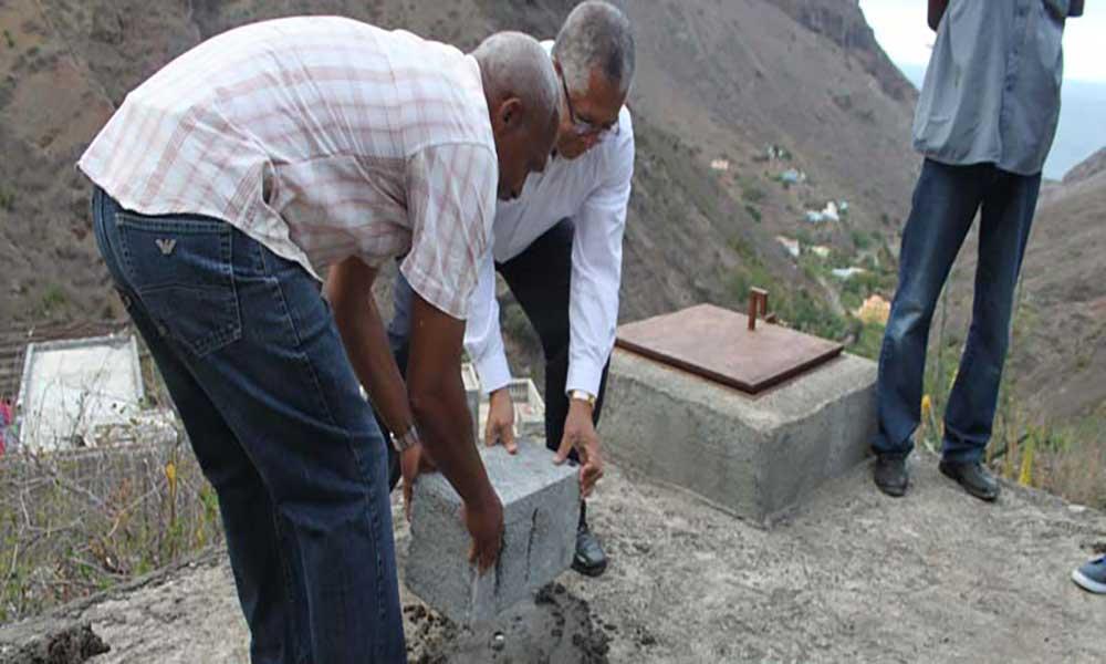 Ribeira Brava: 15 famílias de Terra Quebrada mais perto do sonho de água domiciliária