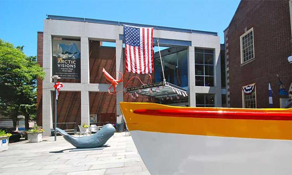 Museu da Baleia de New Bedford em exposição em Cabo Verde