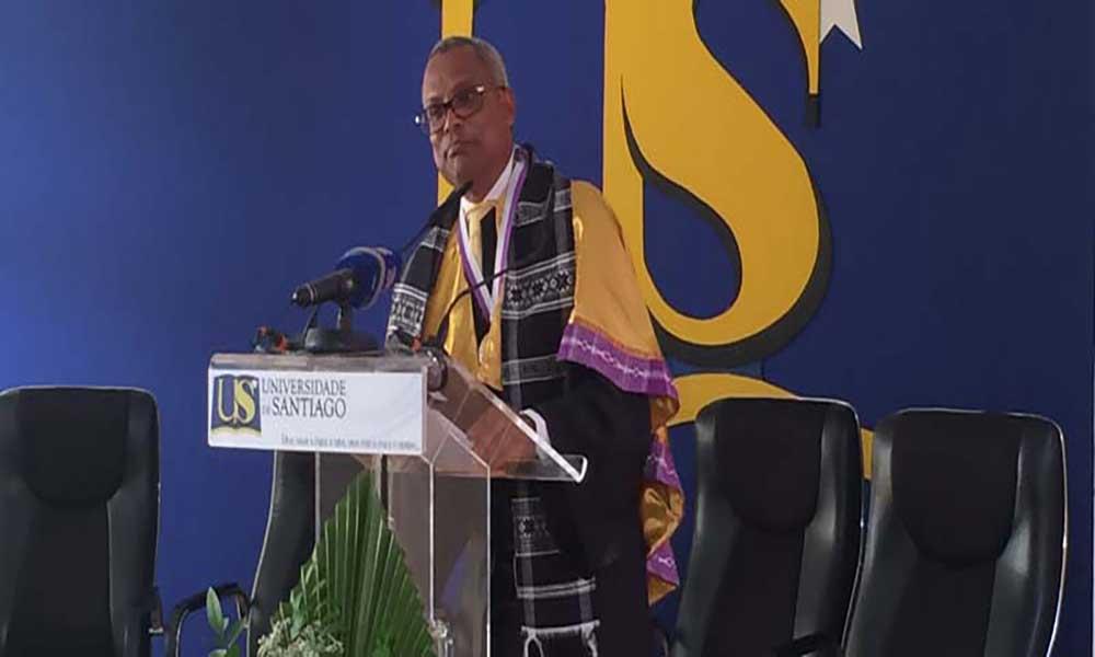 US outorga José Maria Neves com grau de Doutor Honoris Causa