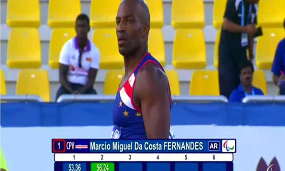Marcio Fernandes é campeão do Mundo Paralímpico no lançamento de dardo