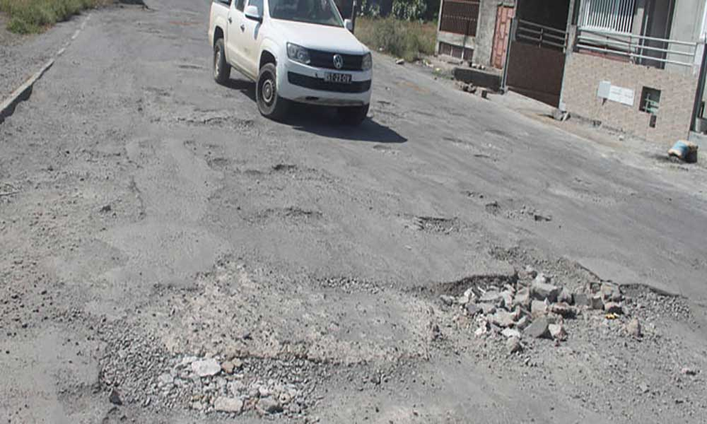 Cidadela: Asfaltagem da via principal só em 2016