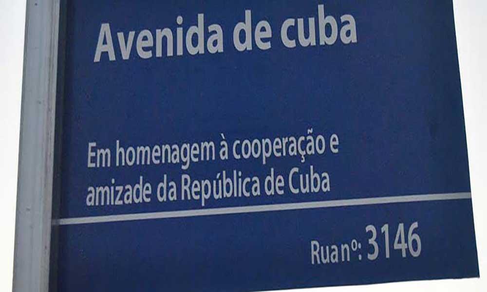 Avenida de Cuba inaugurada na cidade da Praia