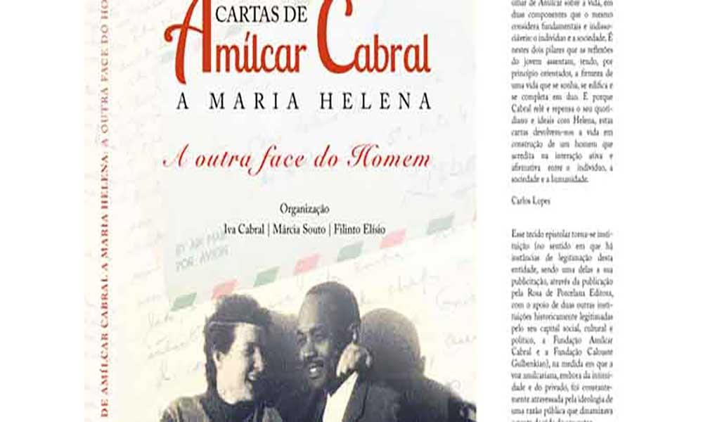 """""""Cartas de Amílcar Cabral a Maria Helena – A outra face do homem"""" lançado esta sexta-feira"""