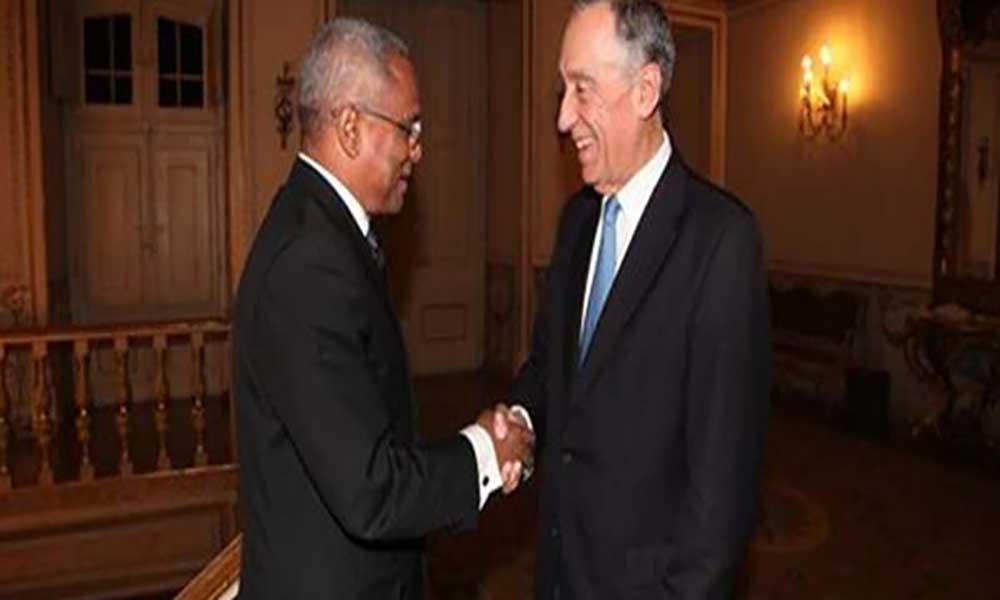 PM recebido por Marcelo Rebelo de Sousa