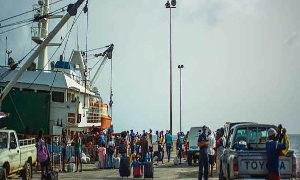 Novo Delegado Marítimo do Maio empossado hoje