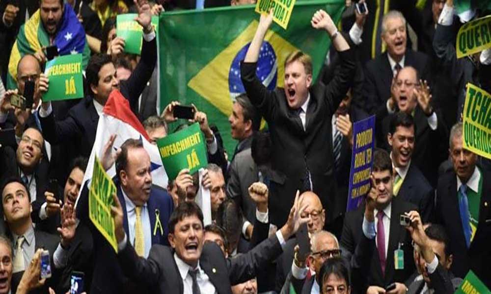 367 a 137. Câmara dos Deputados aprova abertura do pedido de impeachment de Dilma Rousseff