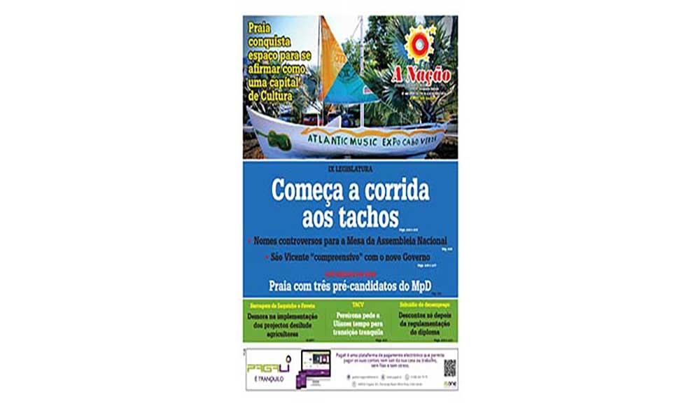 Destaques da edição 450 do Jornal A NAÇÃO