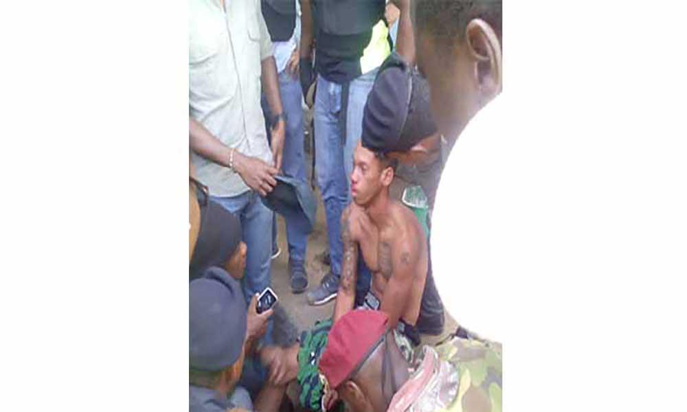 PN acaba de prender soldado suspeito do massacre de Monte Tchota