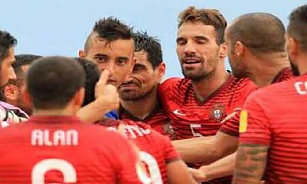 Portugal derrota Cabo Verde e vence 'Sal Beach Soccer'