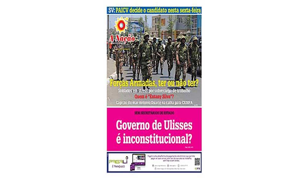 Destaques da edição 453 do Jornal A NAÇÃO