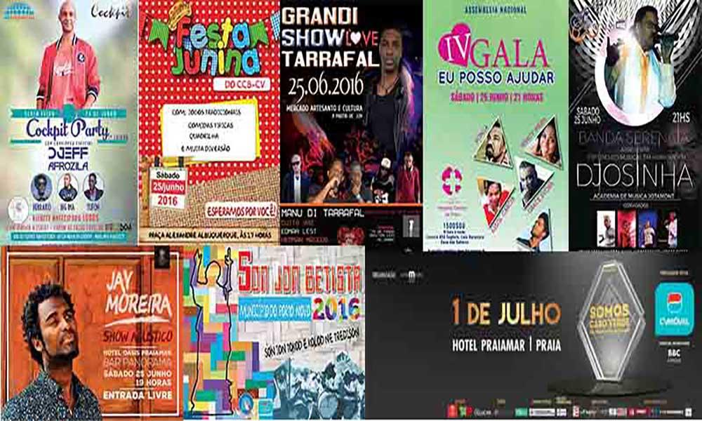Agenda Cultural de 24 de Junho a 1 de Julho