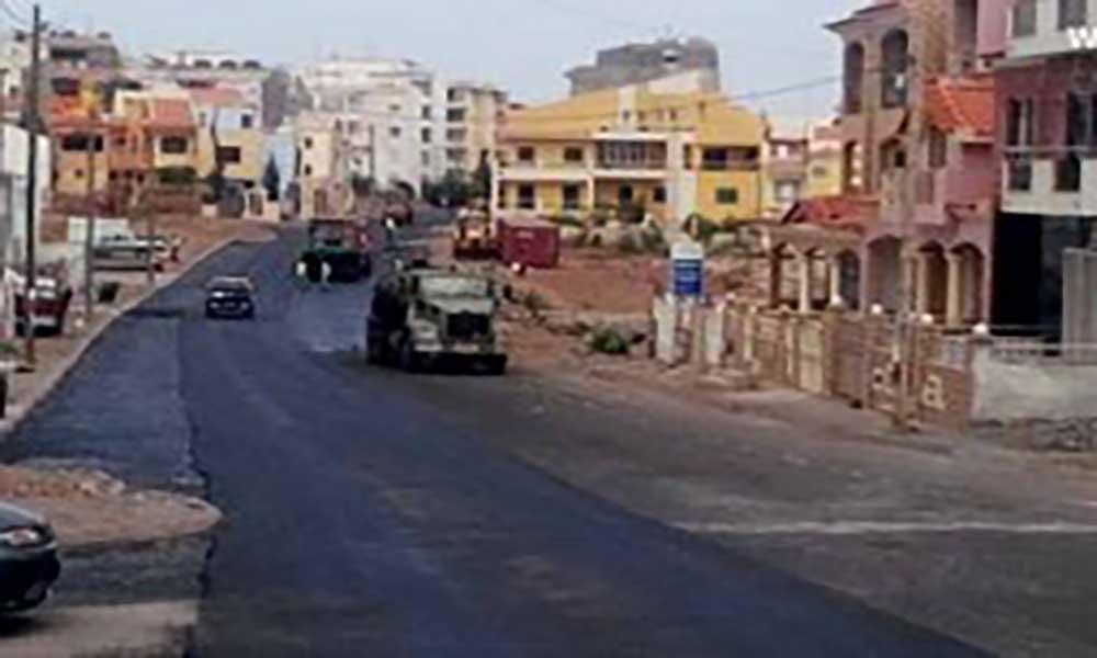 Cidadela: Estrada principal recebe asfalto