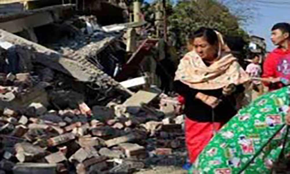 Myanmar:Terramoto mata quatro e destrói quase 200 templos
