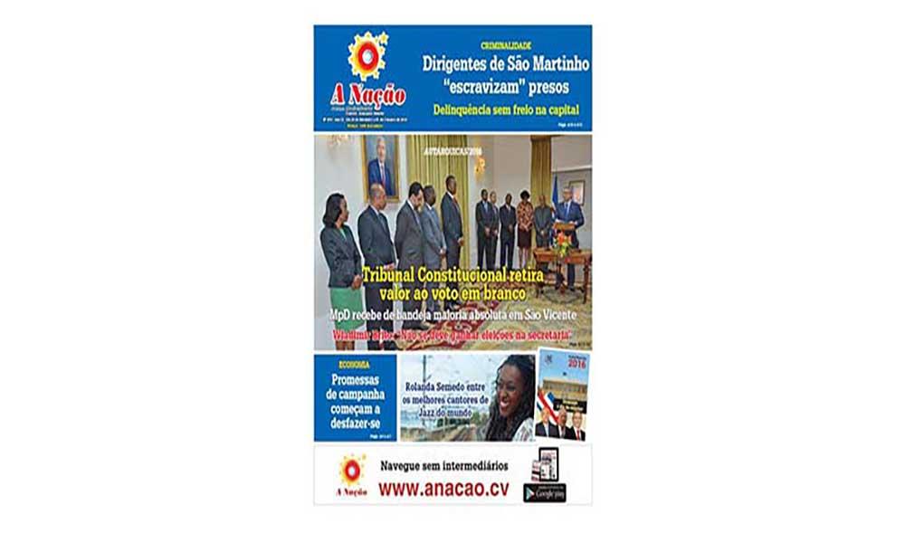 Destaques da edição 474 do Jornal A NAÇÃO
