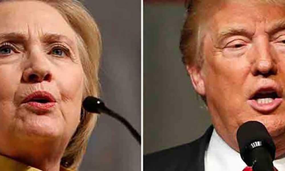 Donald Trump diz que Hillary Clinton tem de fazer teste antidoping antes do próximo debate