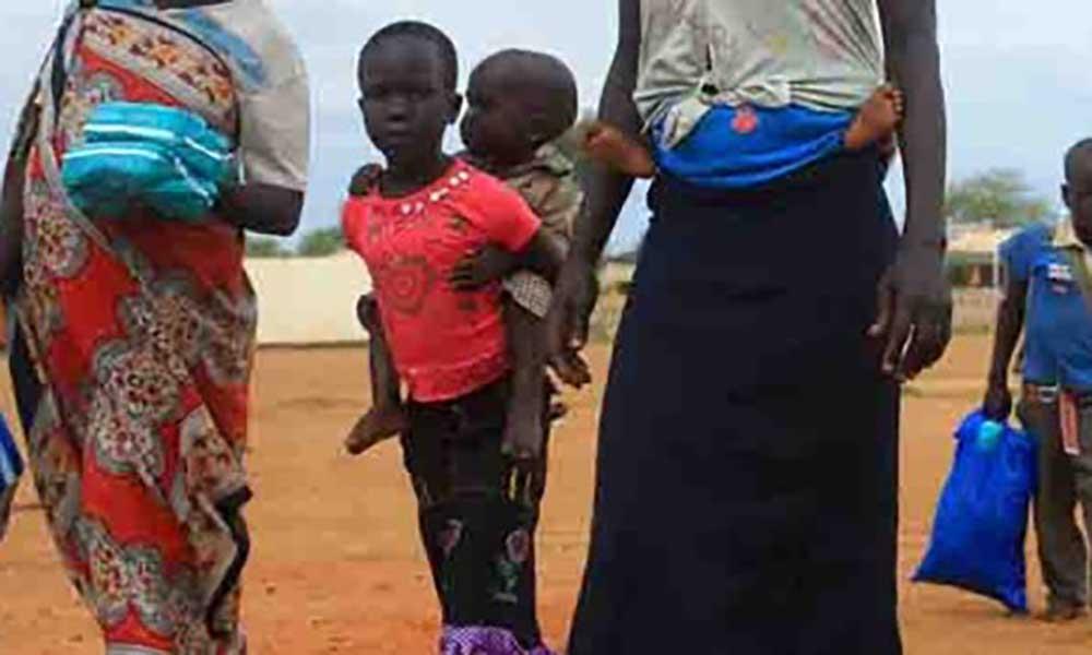 Mais de um milhão de pessoas fugiram do Sudão do Sul por causa da guerra