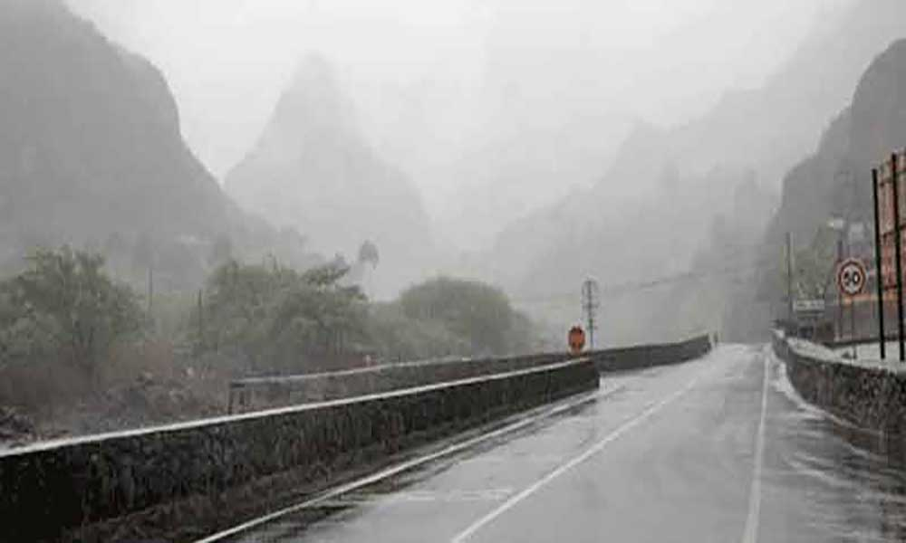 Chove em todo o arquipélago