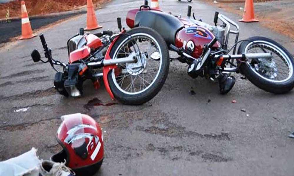 Acidente entre duas motos causa três mortos na estrada do Lazareto