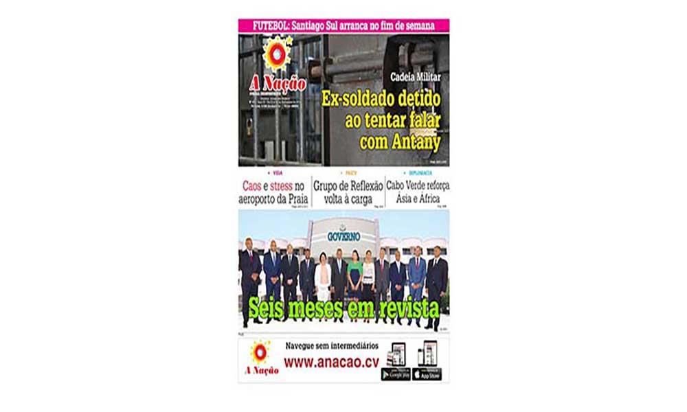 Destaques da edição 479 do Jornal A NAÇÃO