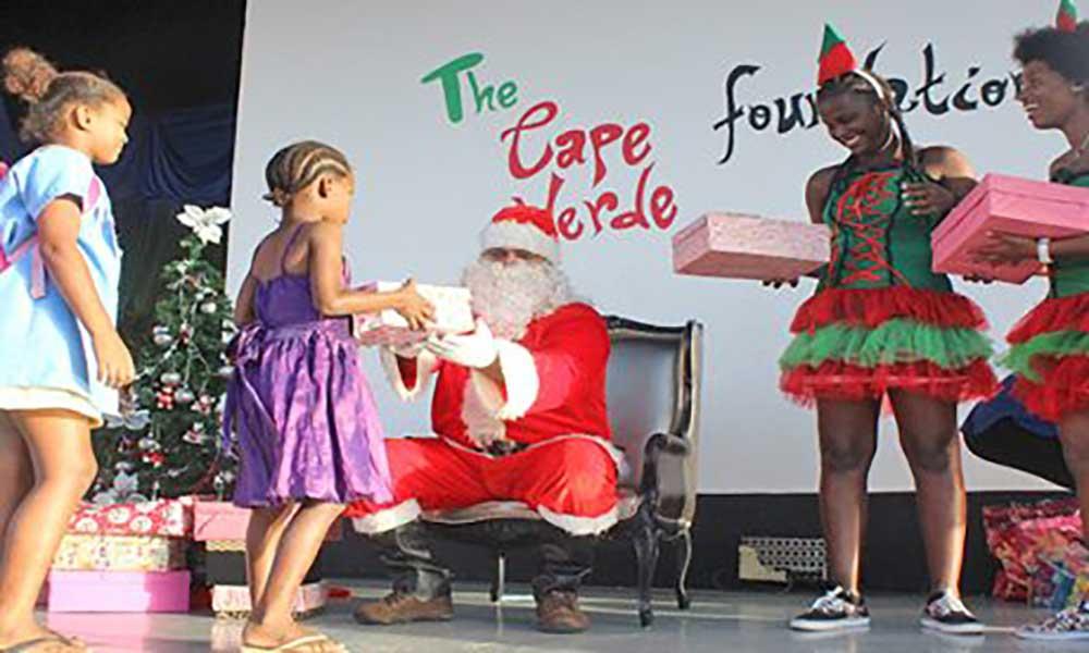 """The Cape Verde Foundation leva um """"sorriso"""" às crianças da ilha do Sal"""