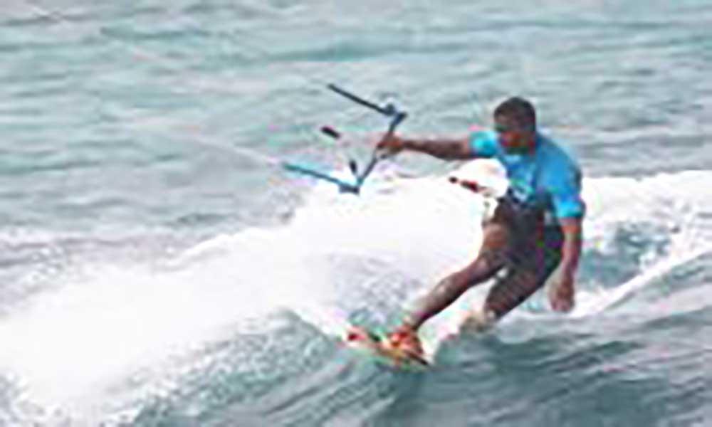 Kitesurfista de Salamansa ambiciona ser campeão do mundo