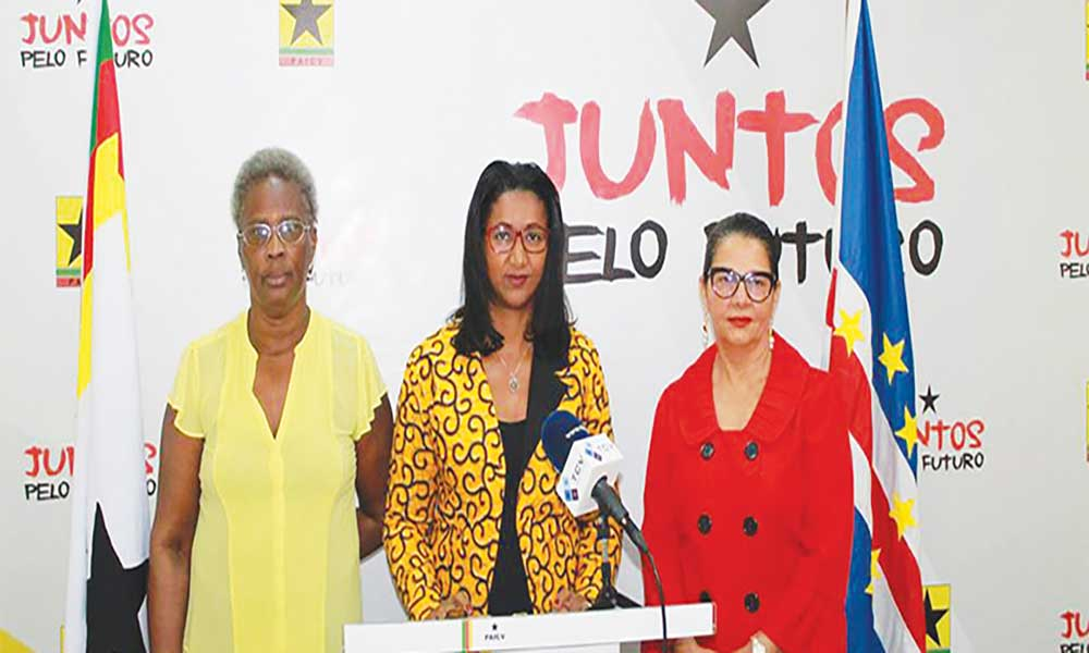 Mulheres do PAICV em Conselho Nacional