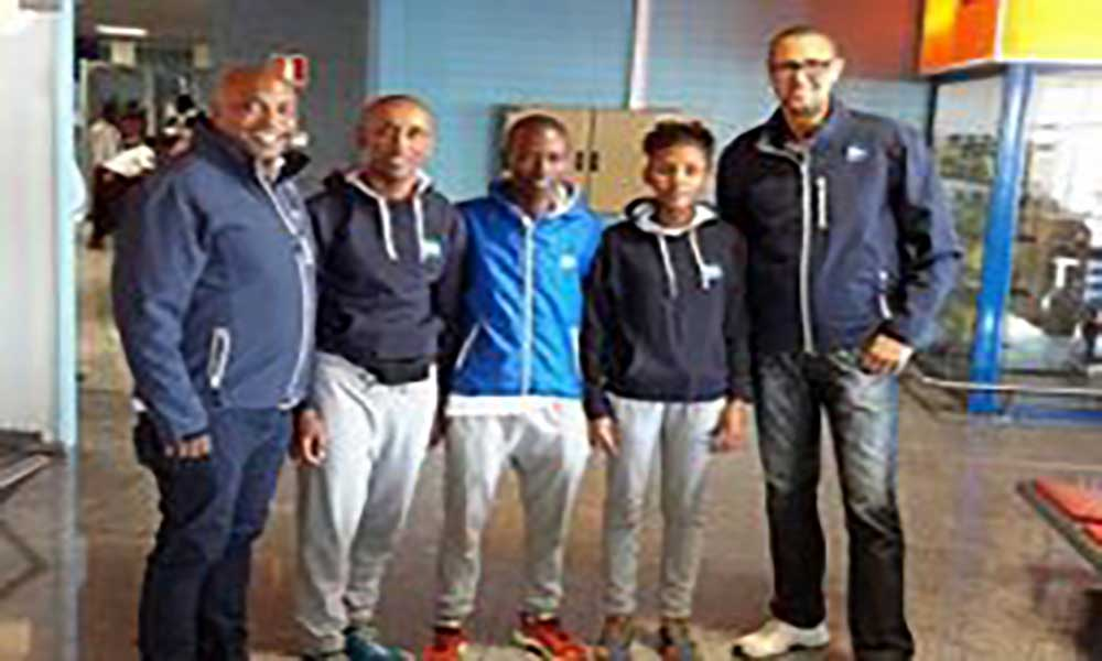 Atletismo: Edena Lima vence Bronze e Hélio Samuel medalha de prata nas Canárias