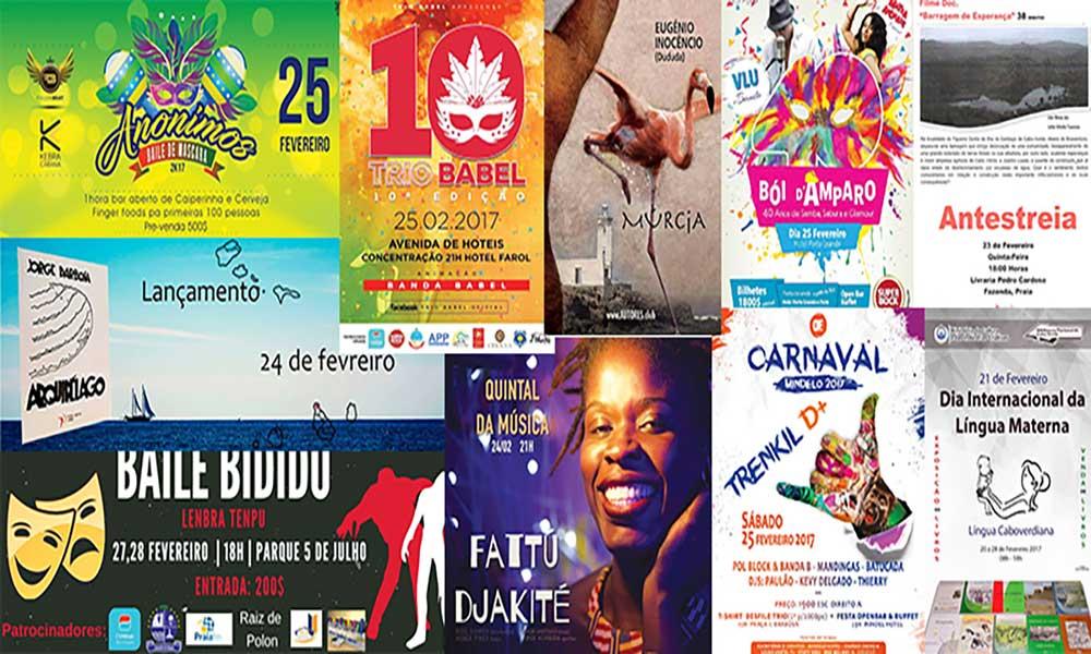 Agenda Cultural 23 de Fevereiro a 01 de Março