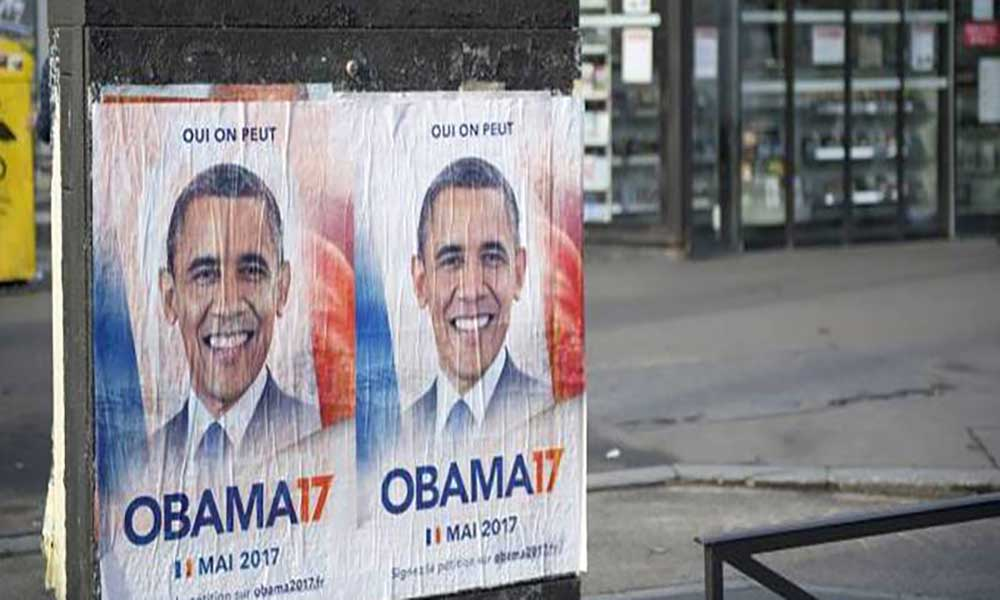 Campanha quer Barack Obama como presidente da França