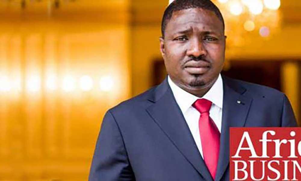 Empresário Samba Bathily em Cabo Verde à procura de oportunidades de investimento