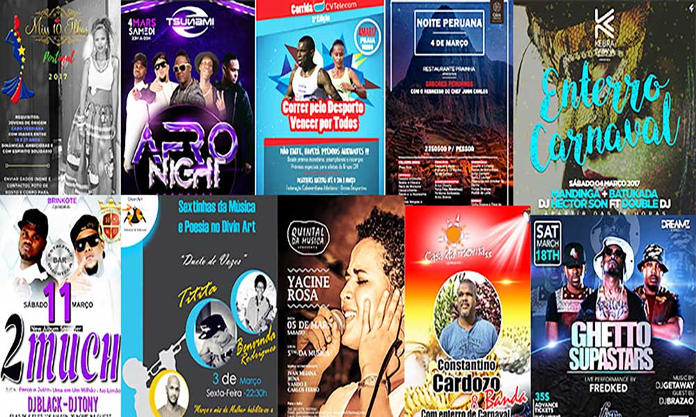 Agenda Cultural de 02 a 08 de Março