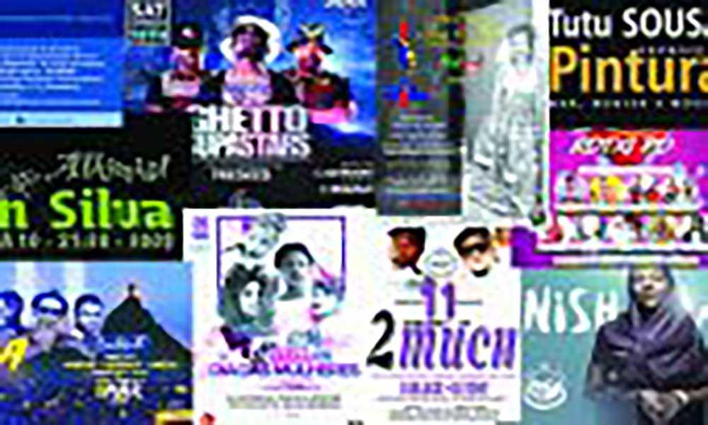 Agenda Cultural de 09 a 15 de Março
