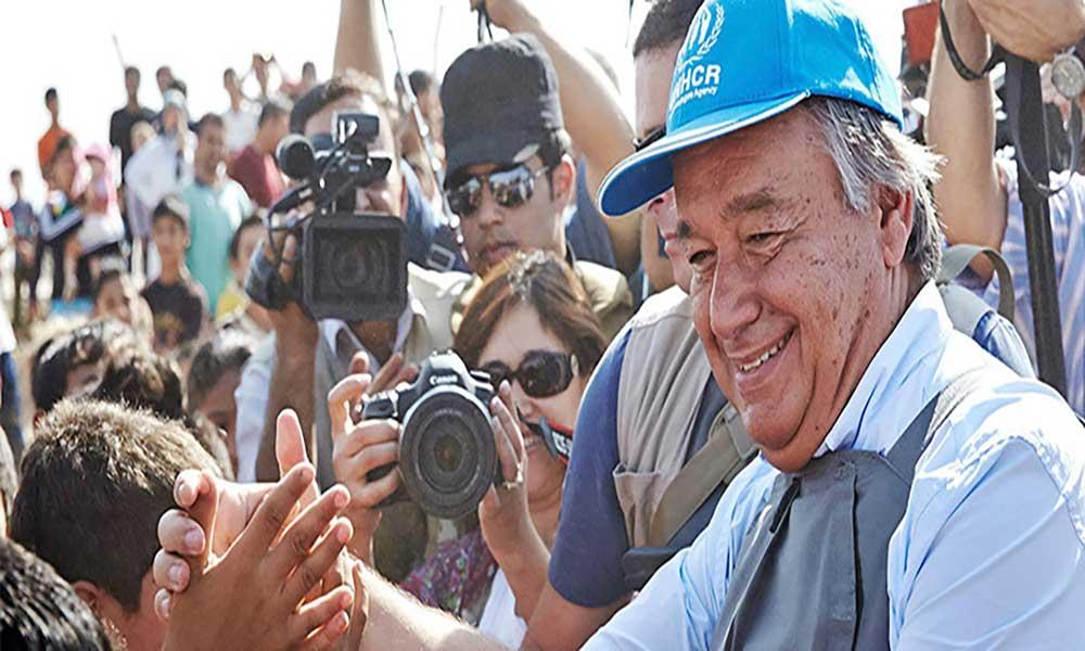 SG da ONU no Iraque com ajuda humanitária na agenda