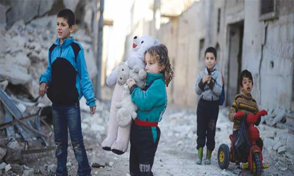 Unicef avisa: Crianças sírias nunca sofreram tanto como em 2016