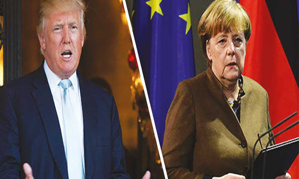 """EUA: """"Stella"""" força adiamento de encontro entre Trump e Merkel"""