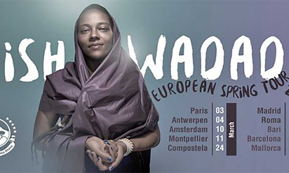 Nish Wadada em tour na Europa com 10 shows confirmados