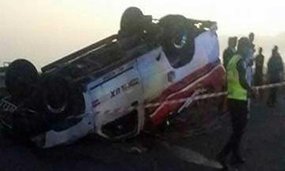 Praia: Um morto e cerca de vinte feridos em acidente de viação
