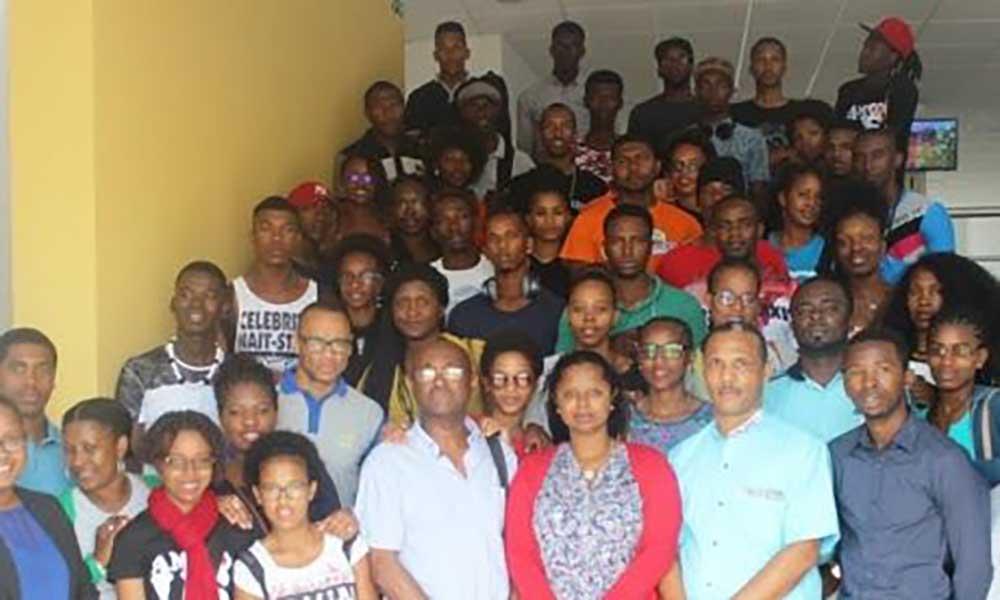 """Alunos e docentes da US de visita à Boa Vista no âmbito do """"Rotas do Arquipélago"""""""