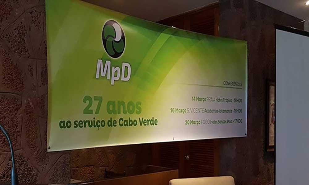 Fogo: MpD realiza conferência sobre os 27 anos da criação do partido