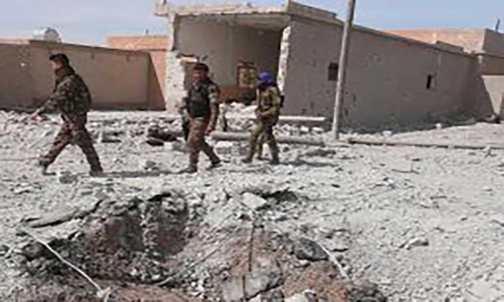 Síria: Daesh perde base aérea de Al-Tabqa