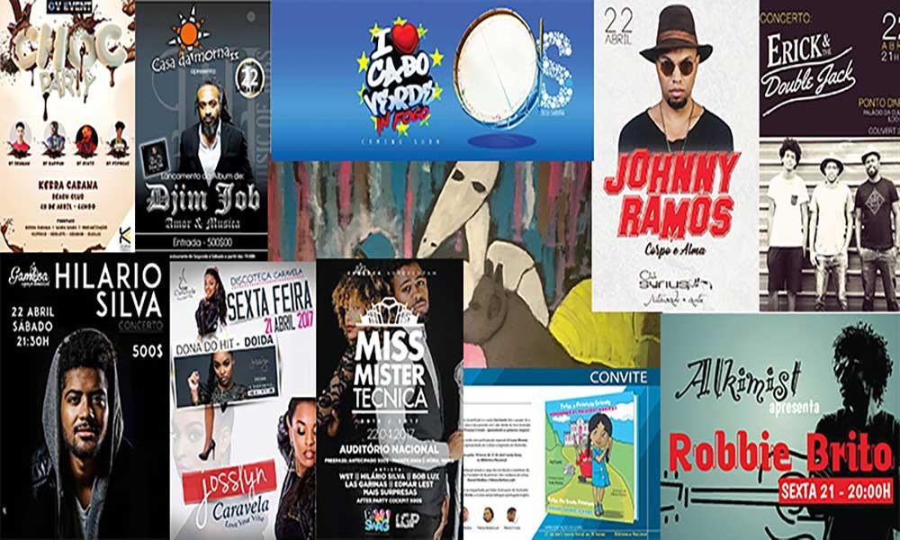 Agenda Cultural de 20 a 26 de Abril
