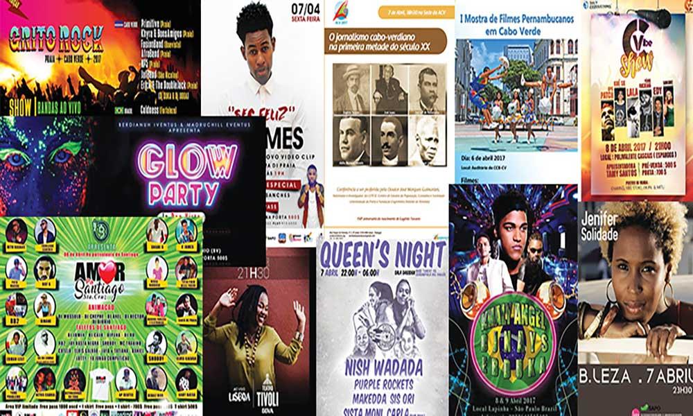 Agenda Cultural de 06 a 12 de Abril